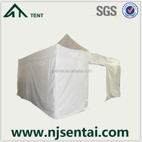 aluminium pop up partytent/small garden awning/tent white