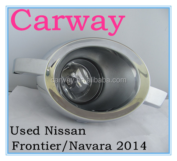 Hot selling accessories for Nissan Frontier or Navara 2014 car fog light