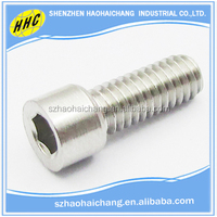 High Quality Standard Size 10.9 Grade 304 316 Stainless Steel Allen Key Bolts