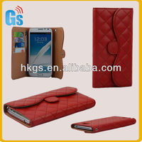 Luxury Wallet Leather For Samsung Galaxy Note 2 N7100 Case Cover