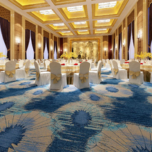 Hotel Banquet Hall Wall to Wall Axminster Commercial Carpet D17-7