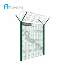 Walk Gates Arched Gates metal gate/ Manufacturer Cheap prefab pvc coating steel wire mesh garden fence/gate