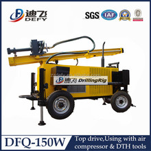 0-150m mining and water used top hammer drill rig