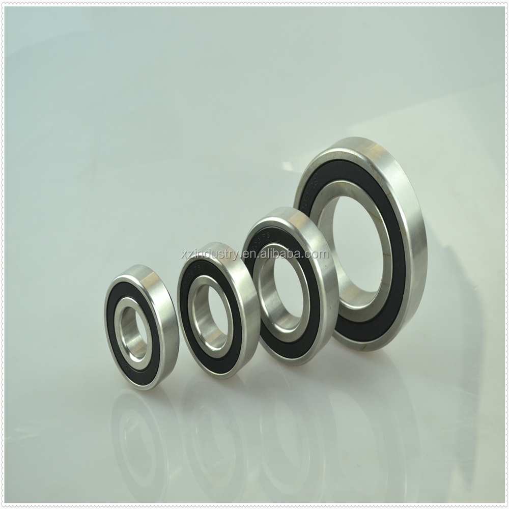 Single row open stainless steel 25x42x12 deep groove ball bearing 6906 factory sale