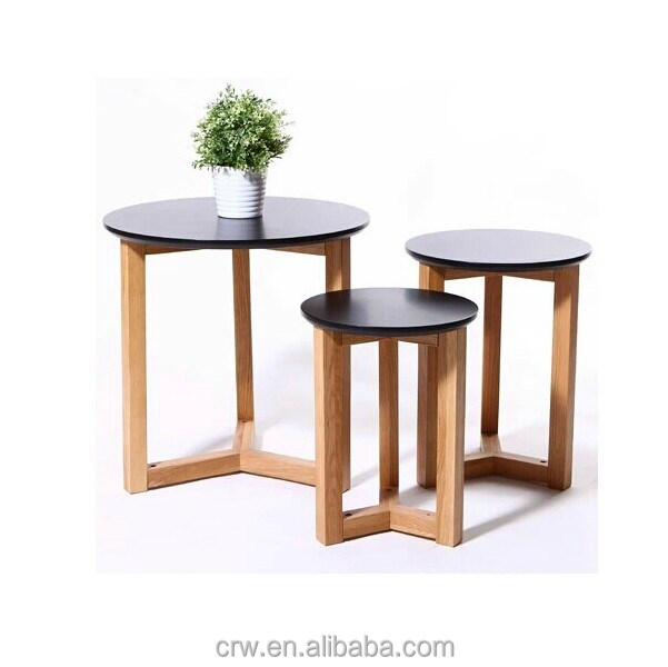 S-1831 Modern Minimalist Wooden Tea Table