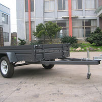 750kg Payload Single Axle Trailer For