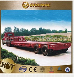 China hot sale 2 axles welding dump truck trailer for sale , truck trailer spare parts