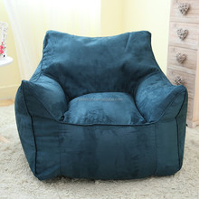 Micro suede bean bag indoor corner lazy sofa new style beanbags