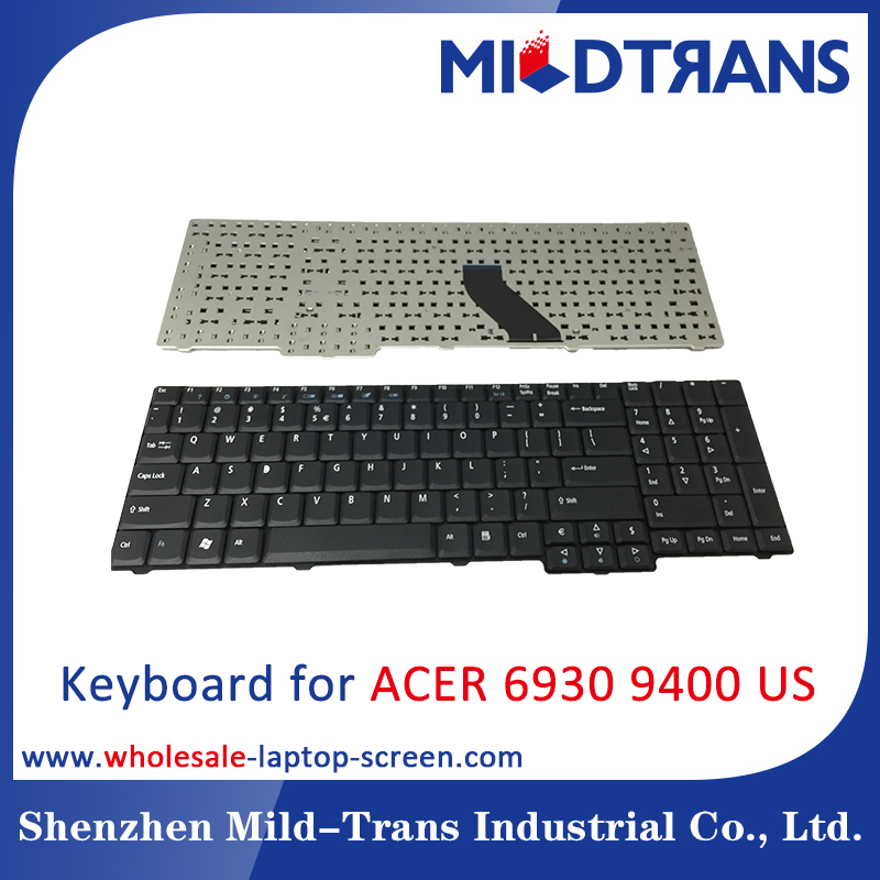 Original notebook keyboard for ACER 6535 6535G 6930 7720 5735 9400 US laptop keyboards replacement black