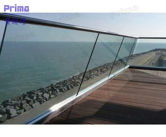 glass balustrade including balustrade hinge cheap deck railings PR-B48