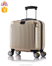 "sky travel luggage 16""18 inch suitcase boarding bag International ABS PC Carry-On luggage Spinner Trolley Luggage sets"