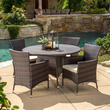 Outdoor Rattan Patio Set Used Restaurant table and chair Outdoor Dinning Set