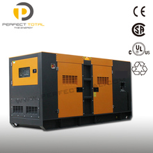 Super Silent 200KW diesel generator with base fuel tank