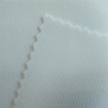 Polyester rachel fabric, warp knit tricot mesh for sportswear