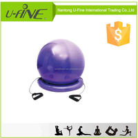 2016 Hot Fitness Ball with Base and handles