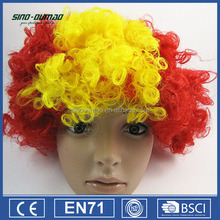 Fashionable Good Quality Football Sports Fans Wigs