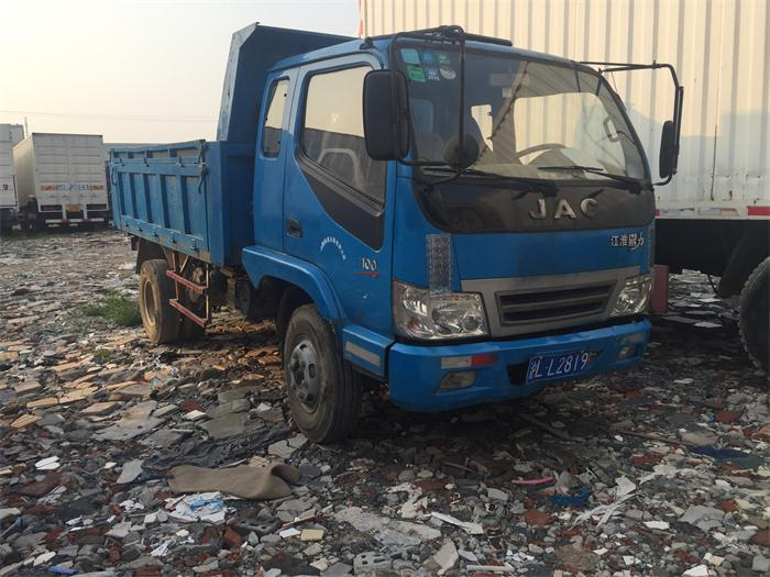Diesel Engine Used Dump Truck Cheap Price, JAC Used Dump Truck for Sale