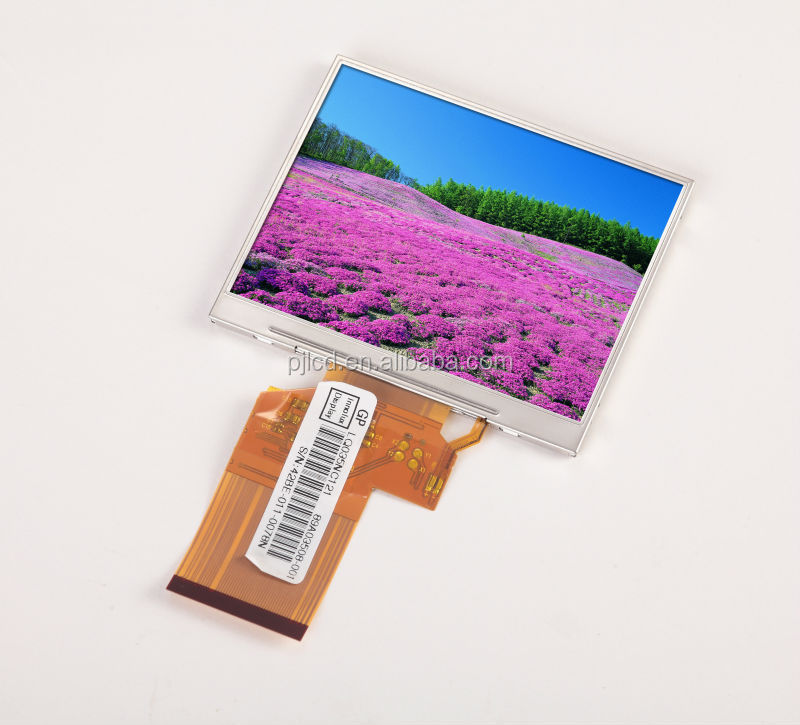 3.5 inch 320 x 240 LCD display ,lcd screen supports VGA/Video input (PJT350T01H32-200P54N)