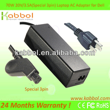 Laptop Adapter for DELL ADP-70BB PA-4 20V 3.5A AC ADAPTOR