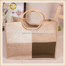 Top packing high quality custom printed used lovely jute bags for sale