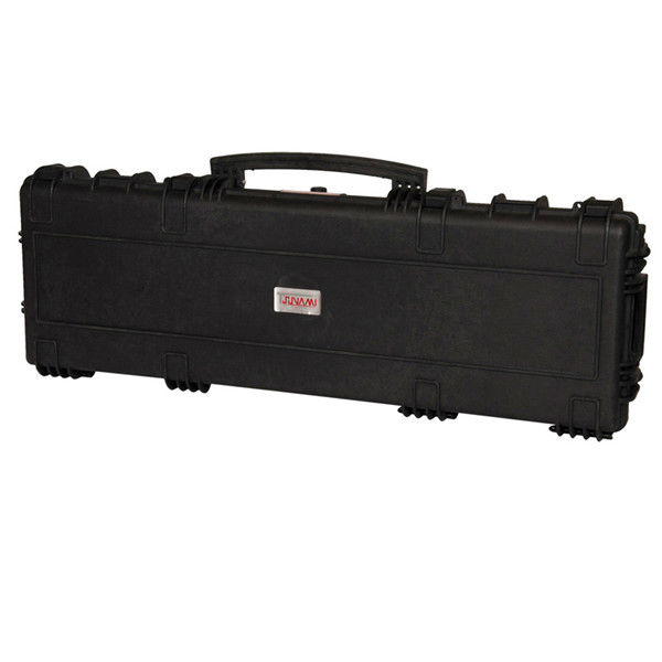 High quality waterproof Lockable sports gun case with wheels,hard plastic military rifles for hunting