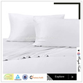 300TC Sateen bamboo sheet wholesale, bamboo bed sheets