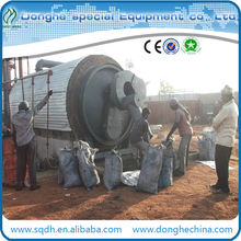 6-20t/d used tyre/rubber recycling machine with CE&ISO