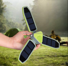 2015 NEW DESIGN FOLDABLE CAMPING SOLAR LED LIGHT WITH USB CHARGER