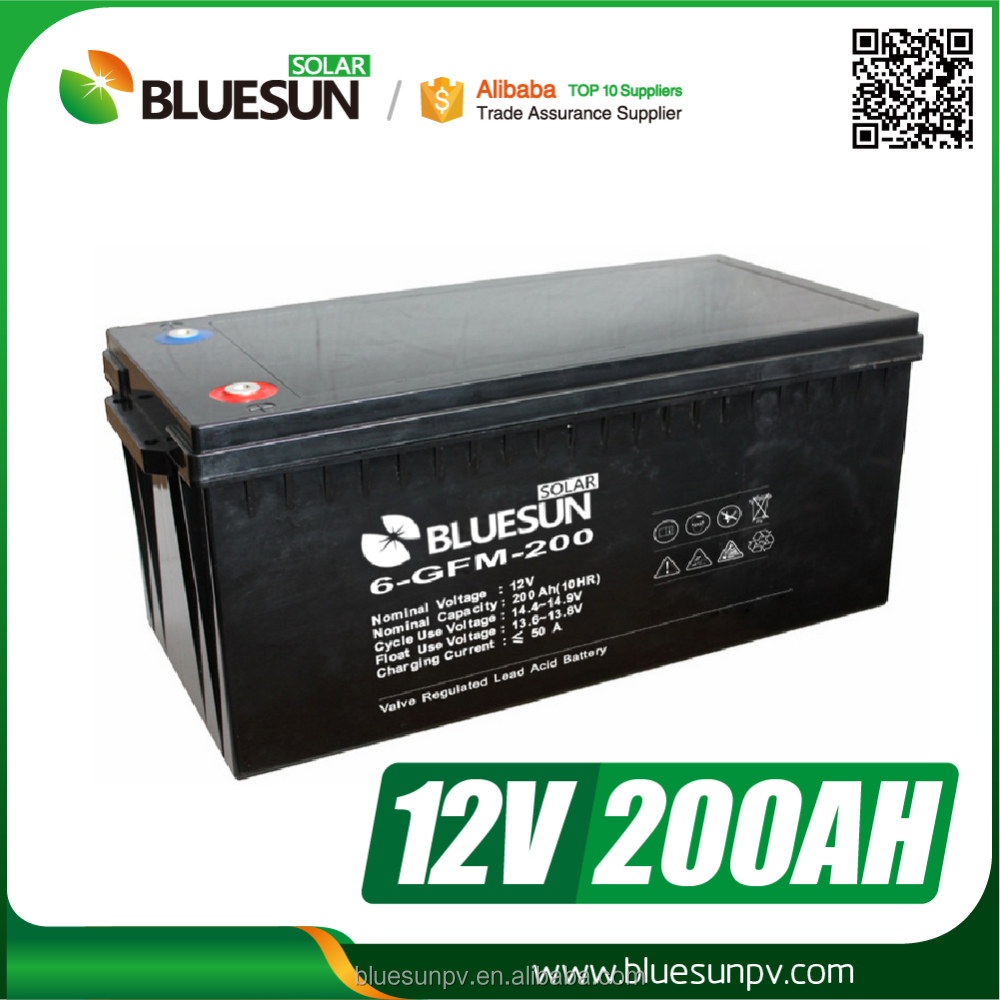 Storage system 12v 200ah agm golden power deep cycle battery