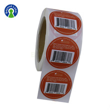 Custom Private 10ml Vial Labels Printing Roll Adhesive Steroid Packing labels