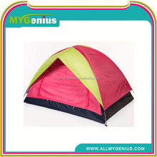 I022 Portable pink 2person camping tent