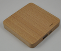 KK1703 2600mAh wooden shell Power bank