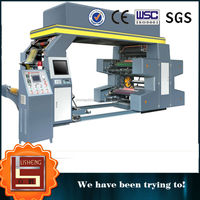 New type four-color High speed flexo printing machine