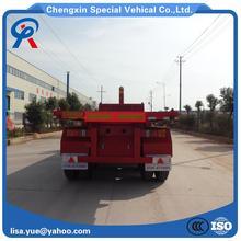 Back dump trailer truck made in China with good quality