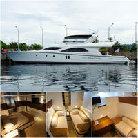 Brand New Marathon 100 Flybridge Cruiser Luxury Yacht Motor from Indonesia