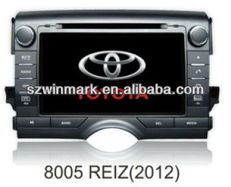 Car DVD/VCD/CD/MP3/WMA/MP4/DIVX/JPEG Multimedia Player for Toyota REIZE