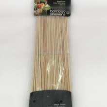 ZQ25 12 Inch China Best Selling BBQ Wholesale Food Bamboo Skewer