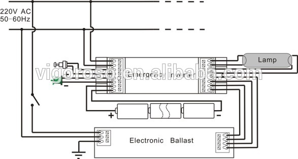 t8 58w emergency power backup view emergency power backup wiring diagram for eletronic ballest t8 58w emergency power backup