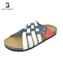 Men cork/eva sandals lightweight slipper for beach nudes man shoe