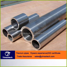 Factory supply seamless titanium alloy grade 5 (gr5) tubes/pipes