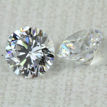 AAA 8mm synthetic cubic zirconia diamond price per carat in 2017