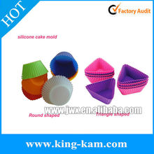 Silicone mini cake stand for bakeware