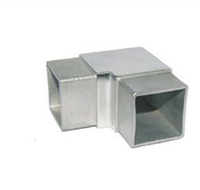 Premium Quality Square Tube Connectors For Tubes, 3 way square tube connector
