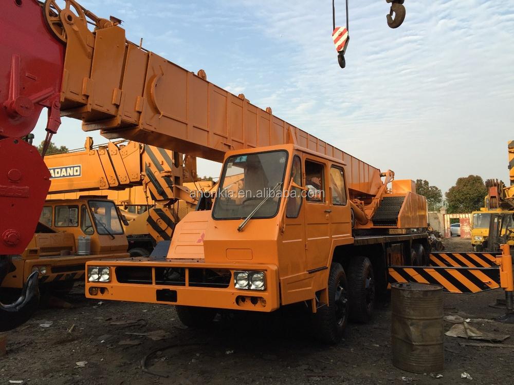 Mobile Crane Kato 20 Ton : Mobile crane kato nk e used ton truck japan