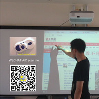 Network Classroom Electronic whiteboard with computer stick