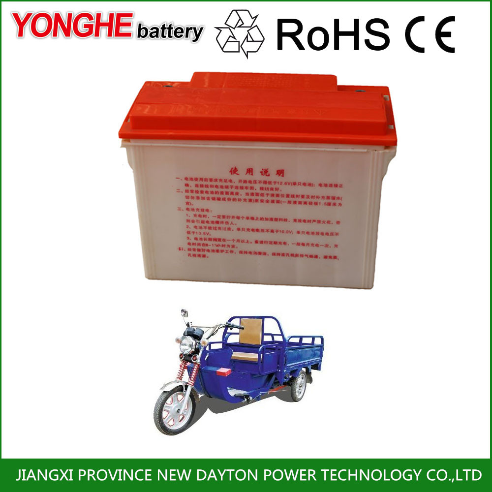 rechargeable 12v 180ah 6-dg-180 sealed lead acid tricycle tubular battery