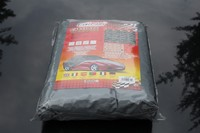 Customized 1 Layer Nonwoven PEVA Waterproof Hail Resistant Car Cover