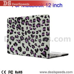 Hard Housing Case Leopard Covers For Macbook 12 Inch-Camouflage/Union Jack