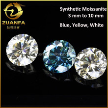 forever briliant round shaped diamond cut synthetic moissanite