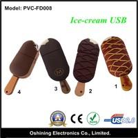 promotional gift mini ice cream usb flash drive (PVC-FD008)